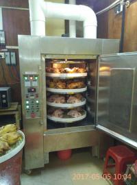 卤菜微波杀菌设备 工业微波烤鸡炉 卤鸡蛋微波烘干设备