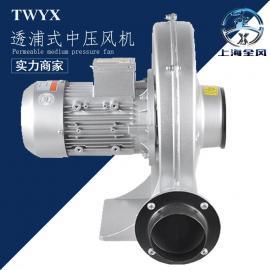 全风CX新款透浦式中压风机 可定制隔热防爆变频单相电风机
