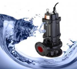 WQ潜水排污泵 QW无堵塞立式污水泵移动污泥抽水泵 潜水泵