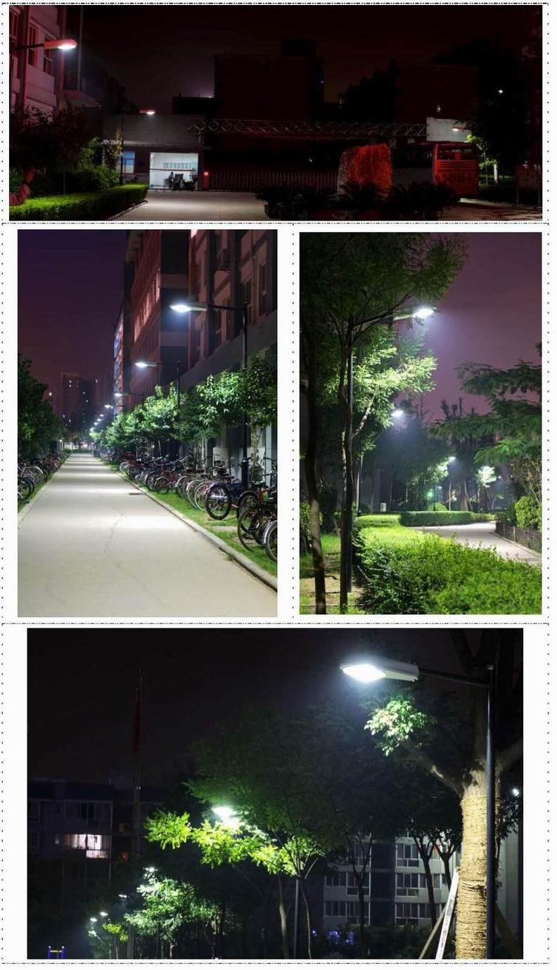 热烈祝贺西北工业大学启迪中学LED路灯照亮全校-启迪中学710路灯亮