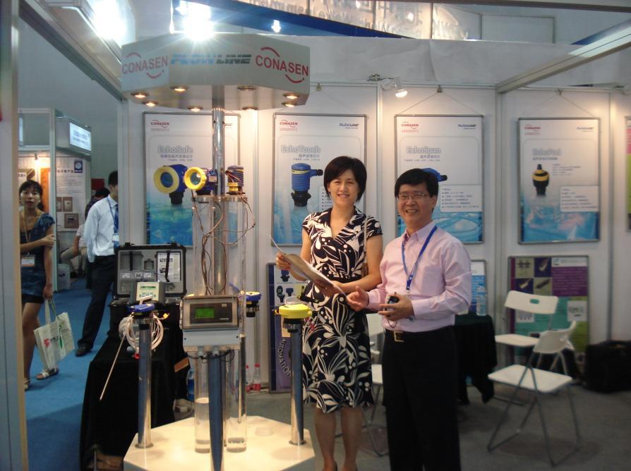 康纳森参加miconex2010多国仪器仪表展