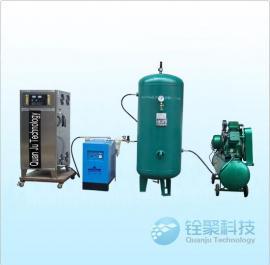 工业污水设备 1000g臭氧机臭氧发生器 带制氧机空压机