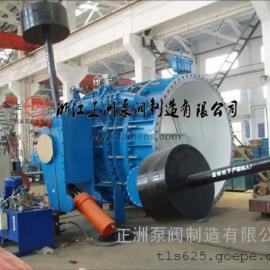 中国·正洲专业生产重锤式液控缓闭止回蝶阀(双重密封)