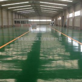 淄川彩色地坪漆,树脂地坪,工业地坪漆施工
