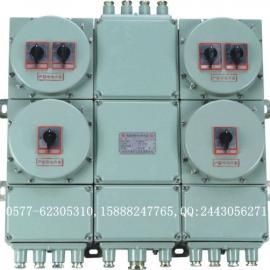 IIB级(IIC级)二回路16A带总开关防爆配电箱