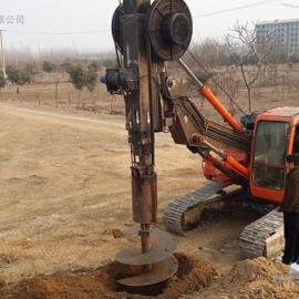 斗山220挖机改装旋挖钻