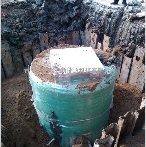 安徽省潜山经济开发区一体化污水泵站-青岛三丰瑞克