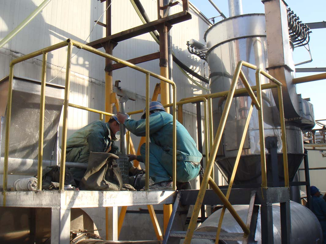喜讯 大型酱油渣烘干机在广东成功投产