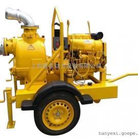 君东柴油移动泵车 6寸下水井排污泵 化工排污泵