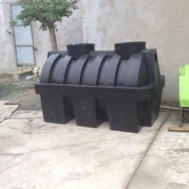 滚塑一次成型三级化粪池、PE新农村改造化粪池全国批发