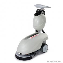 食堂大理石地面清洗洗地机|小型电瓶式洗地机