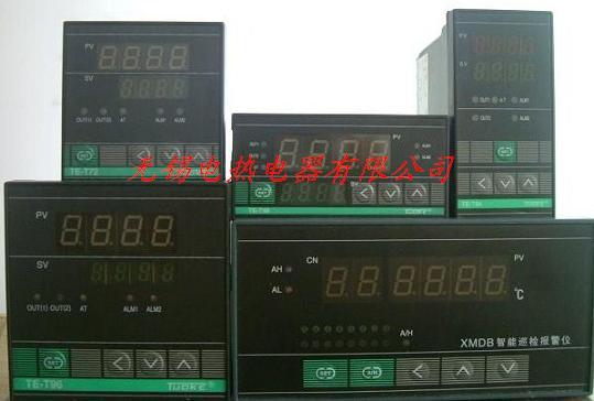 输出给继电器的温控仪接线图