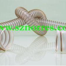 塑筋螺旋增强输料管 耐磨通风吸尘软管 木屑专用抽吸输送软管