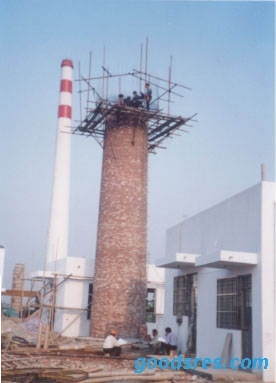 新砌烟囱,砌砖烟囱,砖砌烟囱施工公司
