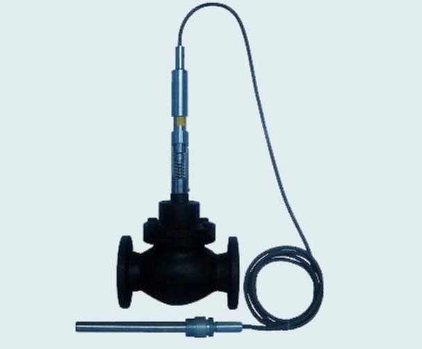 产品展示 控制设备 > 自力式温控阀(两通,三通)          ●温度设定图片