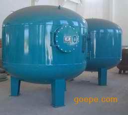 石英砂过滤器,碳钢泳池过滤器,立式泳池砂滤罐