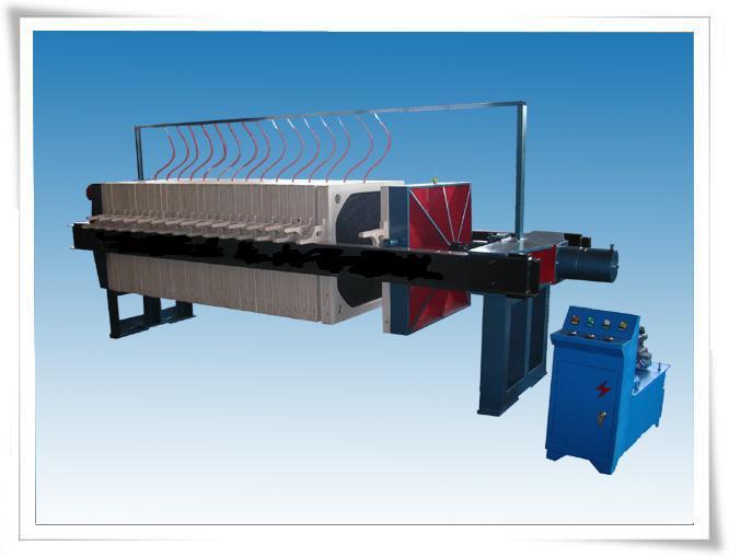 橡胶隔膜压榨压滤机-板框压滤机-不锈钢过滤机-防腐图片