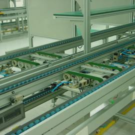 第四代热水器倍速链系列组装线