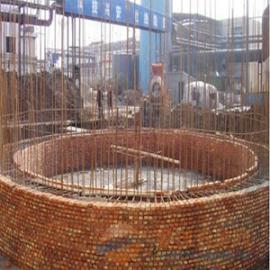 50m烟囱新建|新砌50米砖烟囱|砌筑砖烟囱