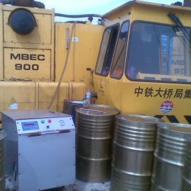 过滤含水液压油滤油机