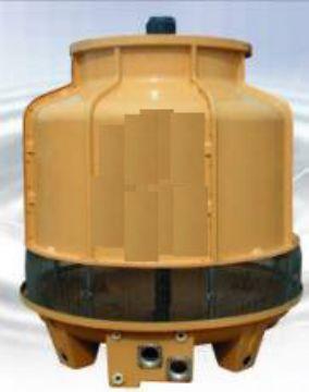 米的干式冷却塔中采用了网索结构