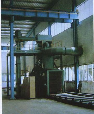 新型钢结构抛丸机