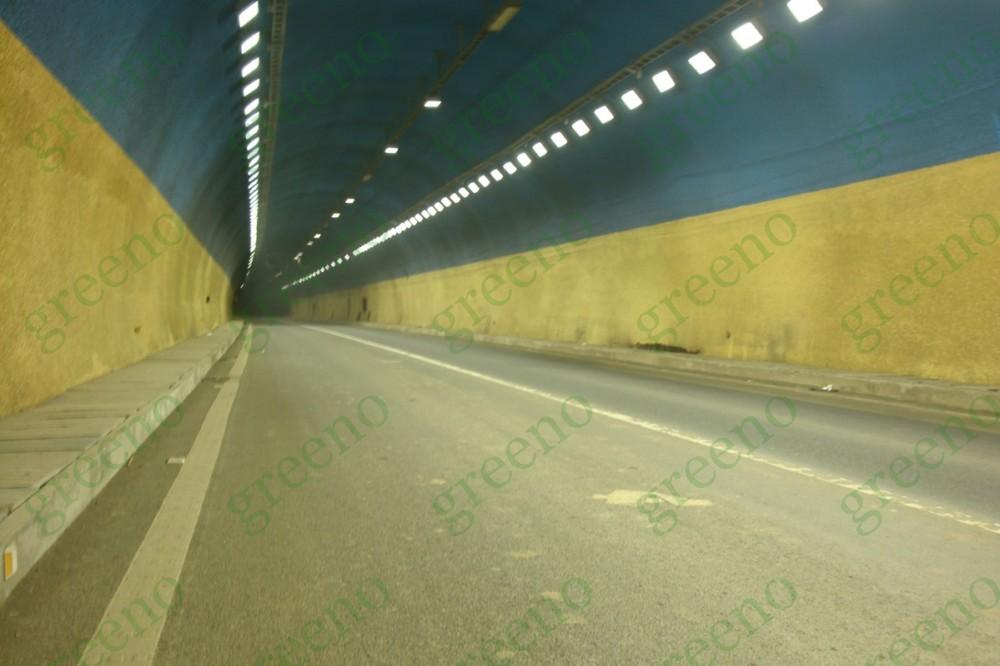 北京有玻璃隧道的风景