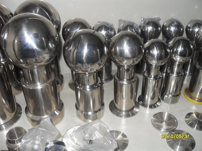 清洗球 > 不锈钢旋转式清洗球,喷淋球           温州田野阀门商标为图片