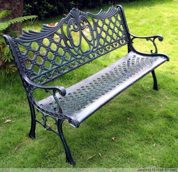 铁艺公园椅, 欧式休闲椅,园林椅,户外休闲椅,路椅,室外休息椅,长椅