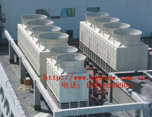 【6】,冷却塔主框架钢结构每两年对漆膜检修一次,如锈蚀则应