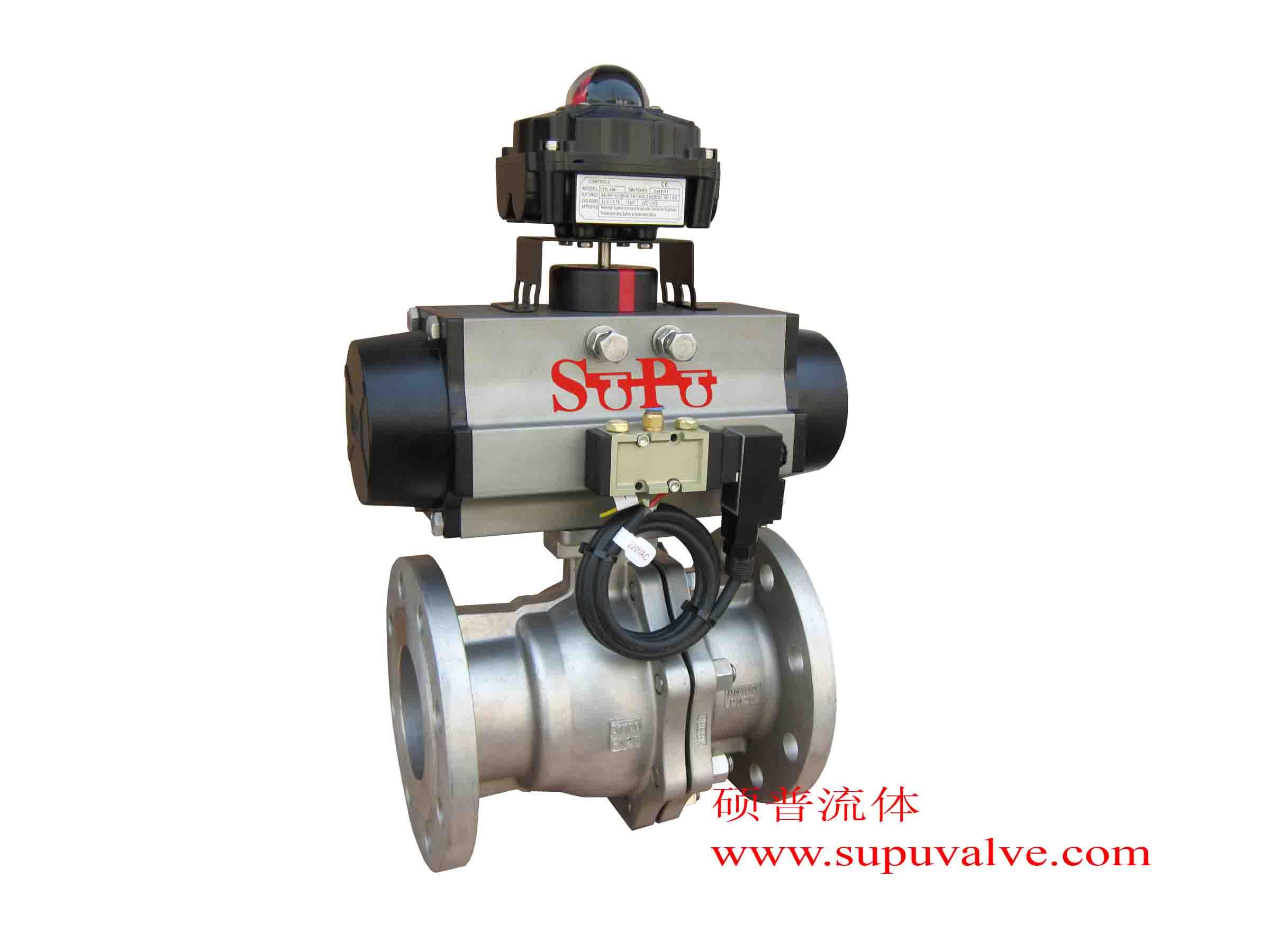 压缩空气(5-7bar)     ·可选附件:气源换向电磁阀,限位开关图片