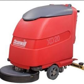 西安哈高手推式高压清洗机-西安洗地机