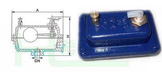 80℃ 水 灰铸铁 铜合金 铜合金 丁腈橡胶 zp-ii自动水暖排气阀结构图图片