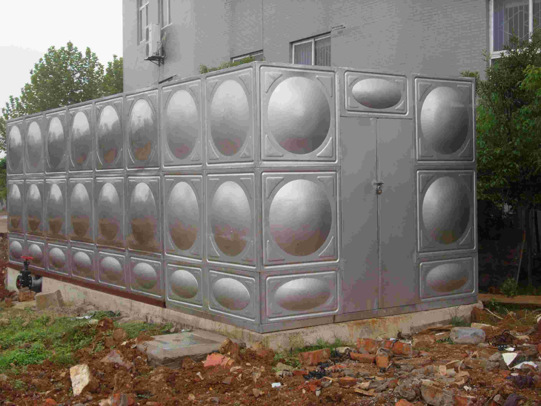 变频供水设备,不锈钢水箱,武汉水箱高清图片