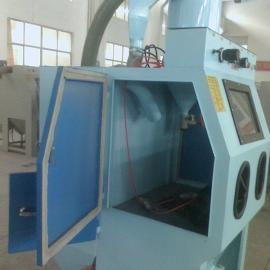 自动手动喷砂机,小型大型喷砂机泰盛吉机械