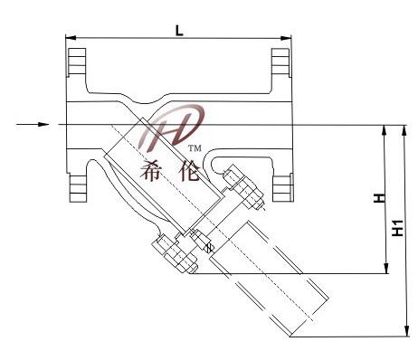 65385 qg蒸汽过滤器订货说明    1,①名称型号②公称通径③阀体材质④