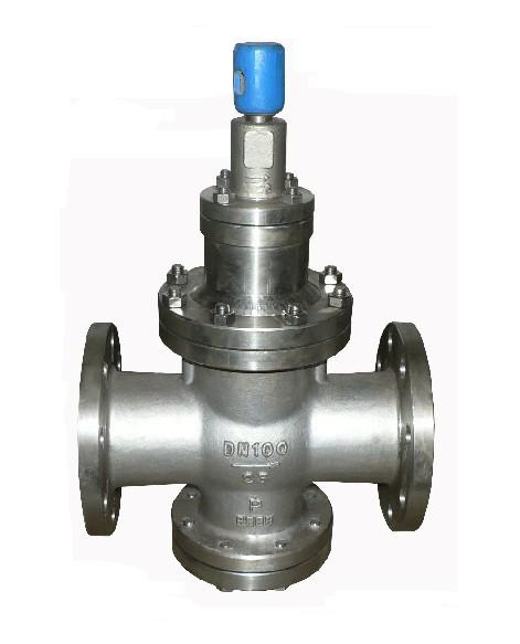 (200p)薄膜式减压阀,y13h型内螺纹连接先导活塞式蒸汽减压阀,直接作用图片