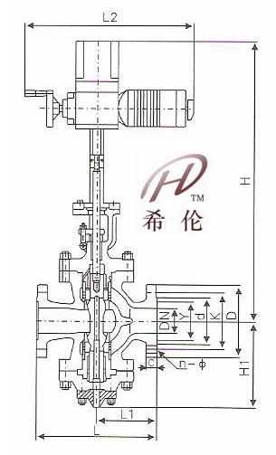 y945h减温减压阀结构图