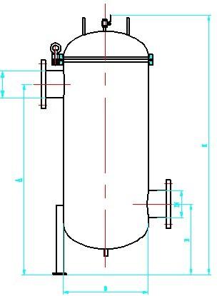 2,大流量过滤器采用旋转摇臂开启结构,更换滤芯,操作设备快捷方便.