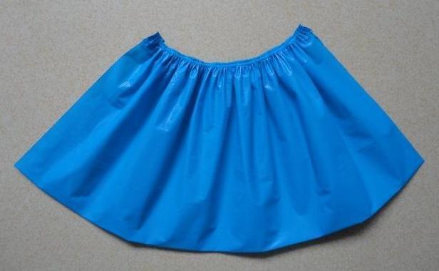 无纺布做裙子步骤图