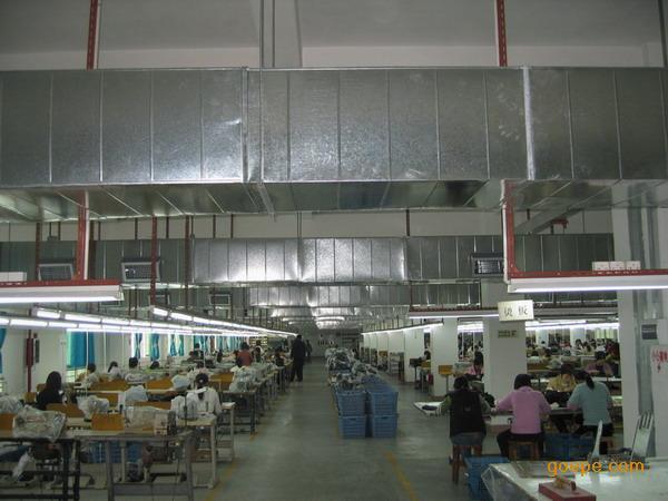 钢结构厂房排风