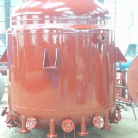 2016新型油加热搪瓷反应釜 电加热搪瓷反应釜