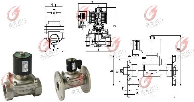 启动电磁阀      燃气燃油,环保设备,加湿设备,暖通空调,水处理,锅炉图片