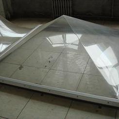 圆拱形采光罩 顶棚采光罩