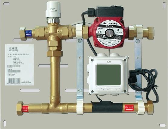 地暖混水系统图片
