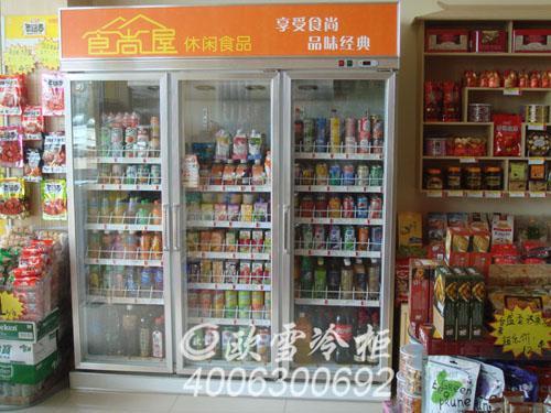 深圳便利店冷柜|湖南超市冰柜长沙冷藏柜