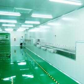 深圳市明大兴万级无尘净化车间;手机外壳自动涂装生产线