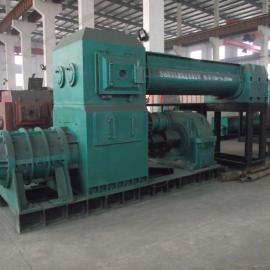 煤矸石厂家 页岩挤出机 红土砖机 双级真空挤砖机