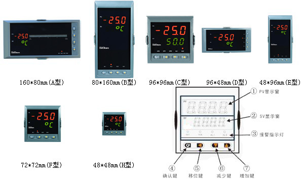 0~150.0℃)                   热电阻pt100(-200.0~650.