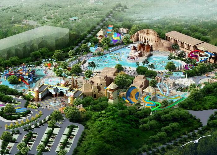 园林景观水上乐园,水上公园项目规划设计
